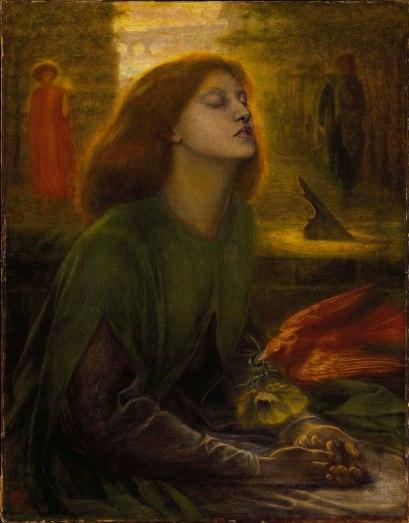 Dante Gabriel Rossetti, Beata Beatrix, c.1864-70.