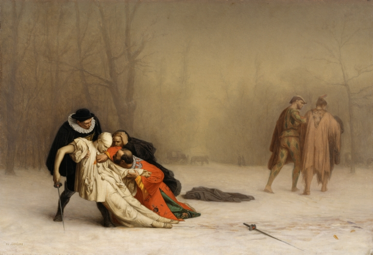 Jean-Léon_Gérôme_-_The_Duel_After_the_Masquerade_-_Walters_3751