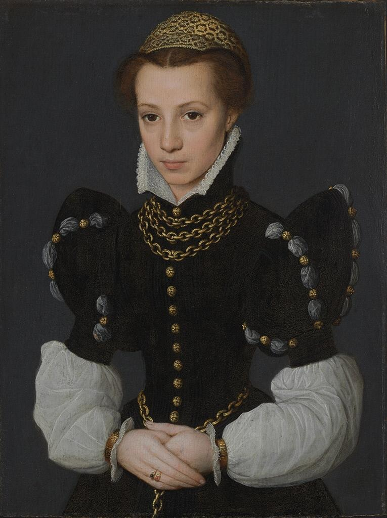 Caterina_van_Hemessen_Portrait_of_a_Young_Lady_1560