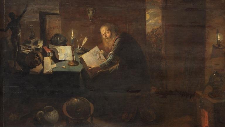 David Ryckaert III, Alchemist, 1649.