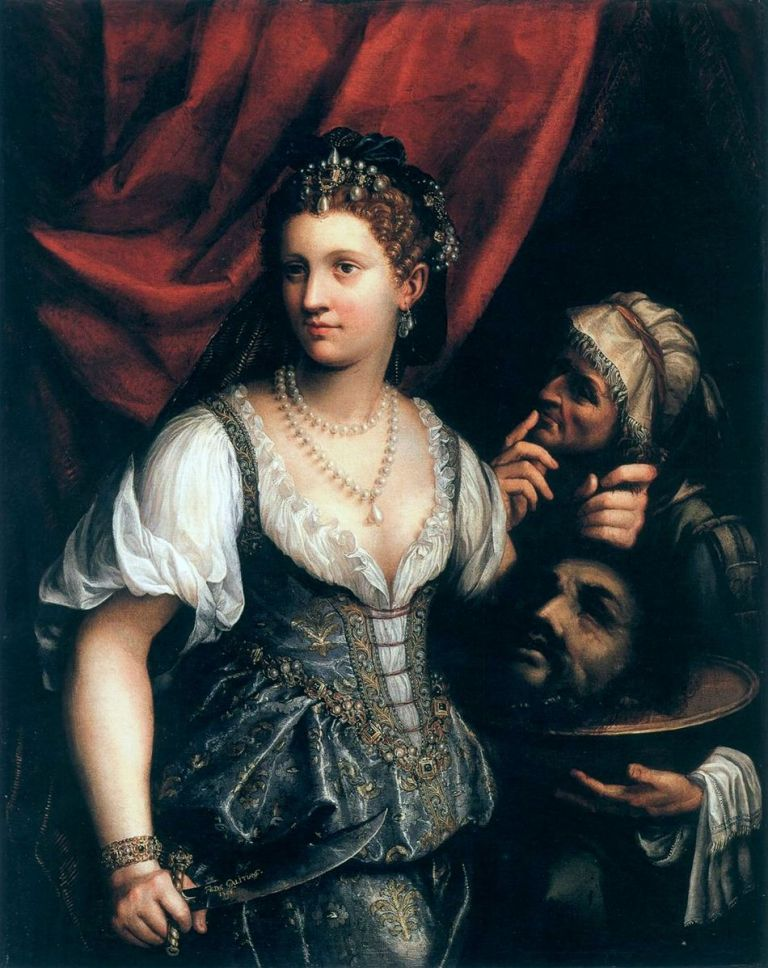 Fede Galizia, Judith with the head of Holofernes, 1596.