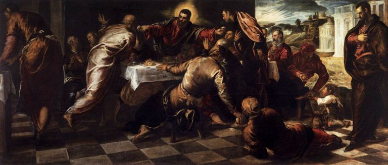 Jacopo Tintoretto, Last Supper, c. 1570.