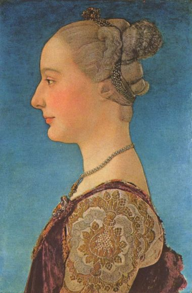 Antonio del Pollaiolo, Portrait of a Lady, 1470.