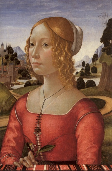 Domenico Ghirlandaio, Portrait of a Lady, 1490.