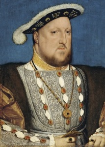 Hans Holbein, Portrait of Henry VIII of England, c. 1537.