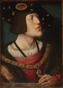 Bernard van Orley, Portrait of Charles V, c. 1515-6.