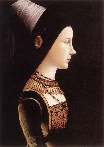 Portrait of Mary of Burgundy, c. 1490