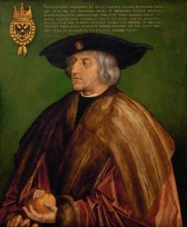 Albrecht Dürer, Portrait of Emperor Maximilian I, 1519.