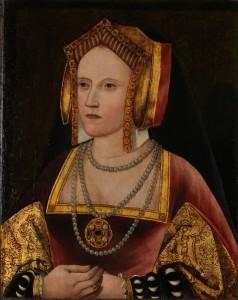 Unknown artist, Portrait of Catherine of Aragon, c. 1520.